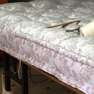 Matelas de laine fabriqué par l'entreprise literie toullec